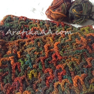 Freeform Intermeshing in autumn colors