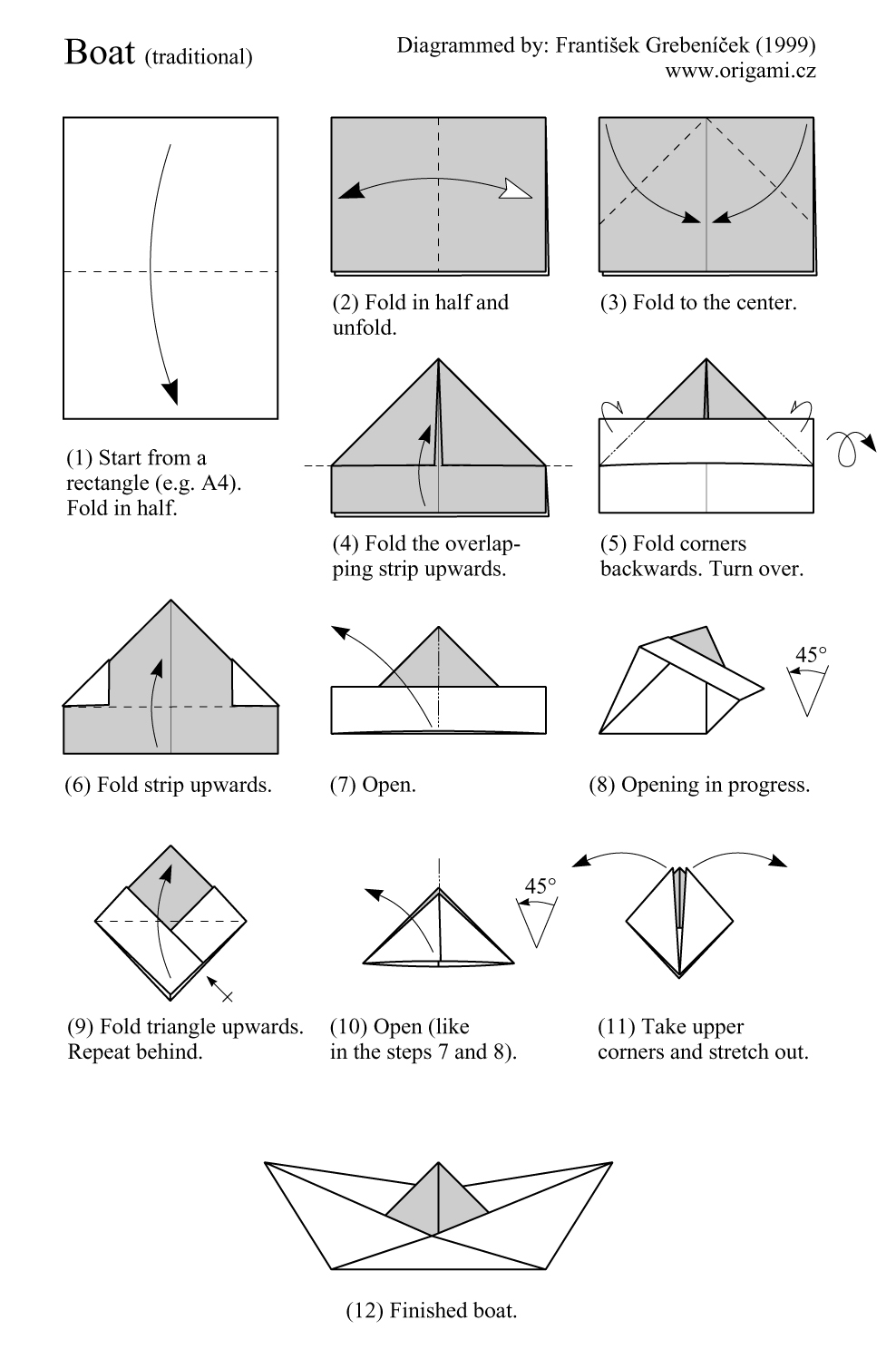 PR Boat: Get How to make a sailboat hat out of paper