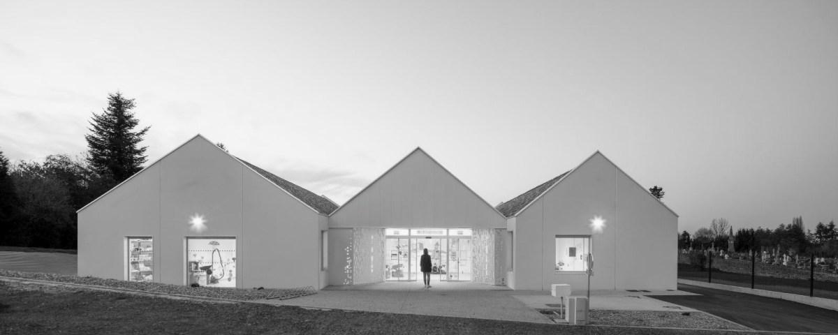 Centre de loisirs la Caillere MKHLM architectes F Dantart