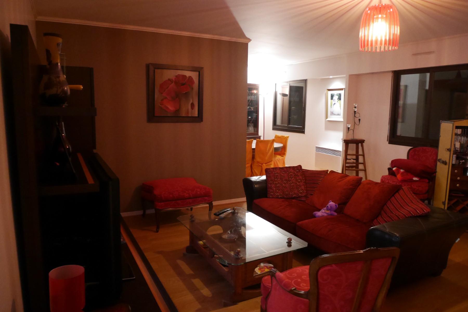 Le salon et la salle à manger avant les travaux de rénovation par les architectes Archibien