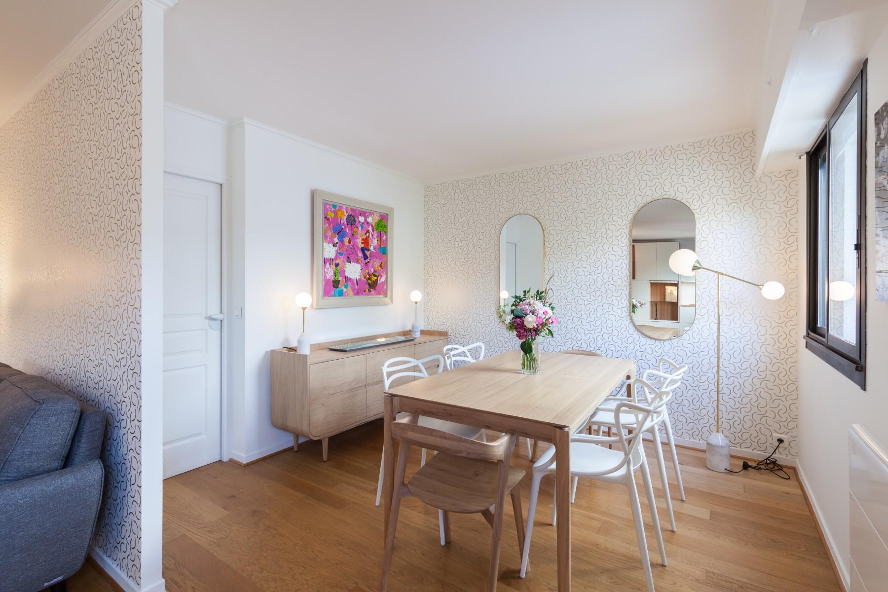 Rénovation d'un appartement à Paris, trois architectes concoivent, dessinent et chiffrent votre projet