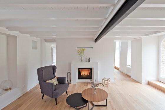 rénovation près de Nantes à Vertou, avec IPN pour reprendre le plancher