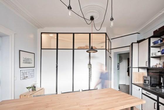 Rénovation d'un appartement haussmannien à Nantes