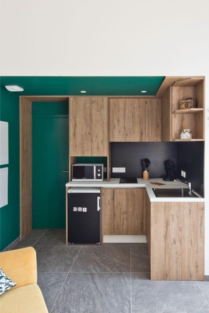 Rénovation et extension d'une maison secondaire projet Archibien cuisine