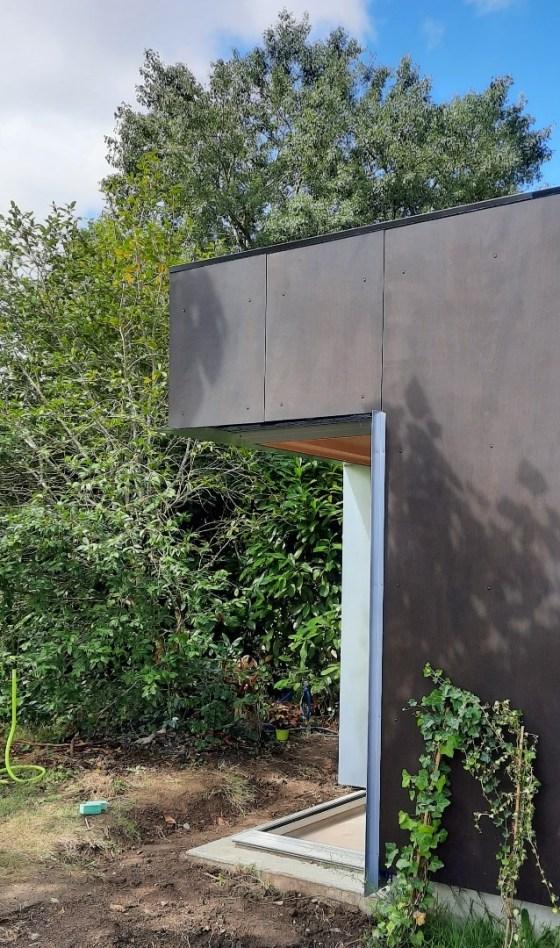 extérieur extension jardin