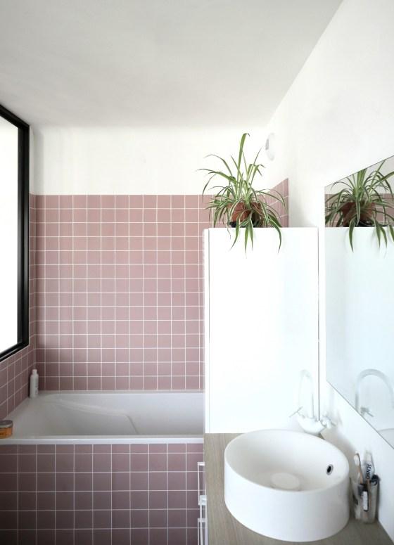 Salle de bain de la maison de Vannes