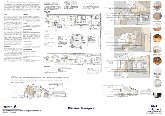 Proposition de rénovation de longère Archibien