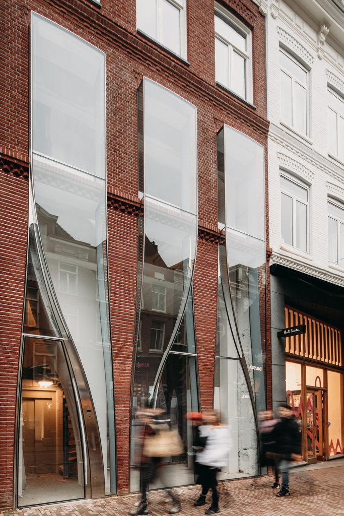 matériau architectural PC Hooftstraat 138 par UNStudio, Amsterdam, Pays-Bas