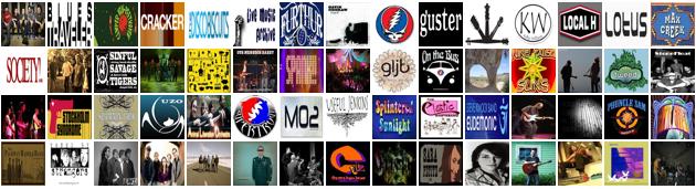 etree band logos