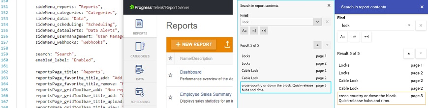 Localization and More in Telerik Reporting and Report Server R2 2018 SP_870x220