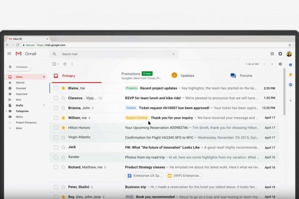 Google Reportedly Allows Outside App Developers to Read People's Gmails