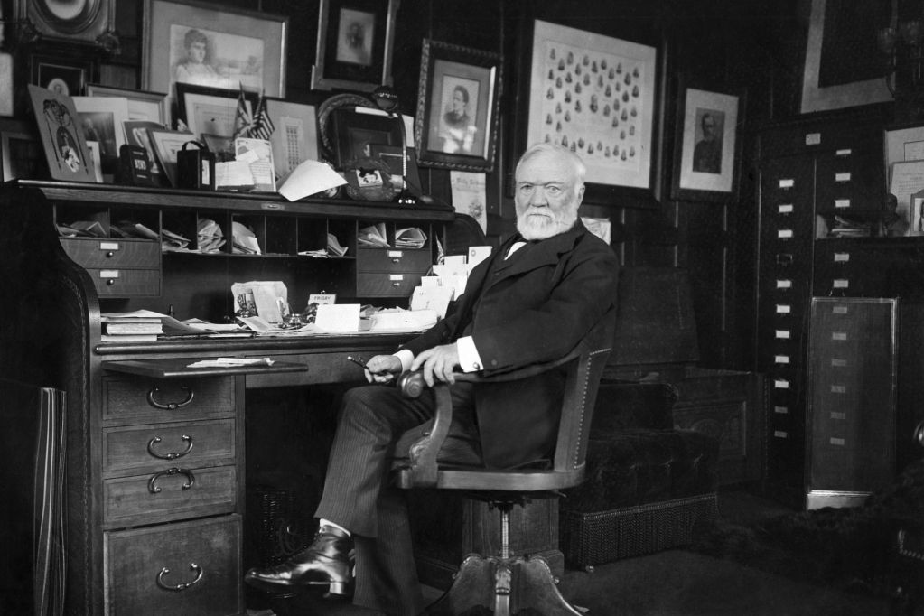 'The Gospel of Wealth' by Andrew Carnegie