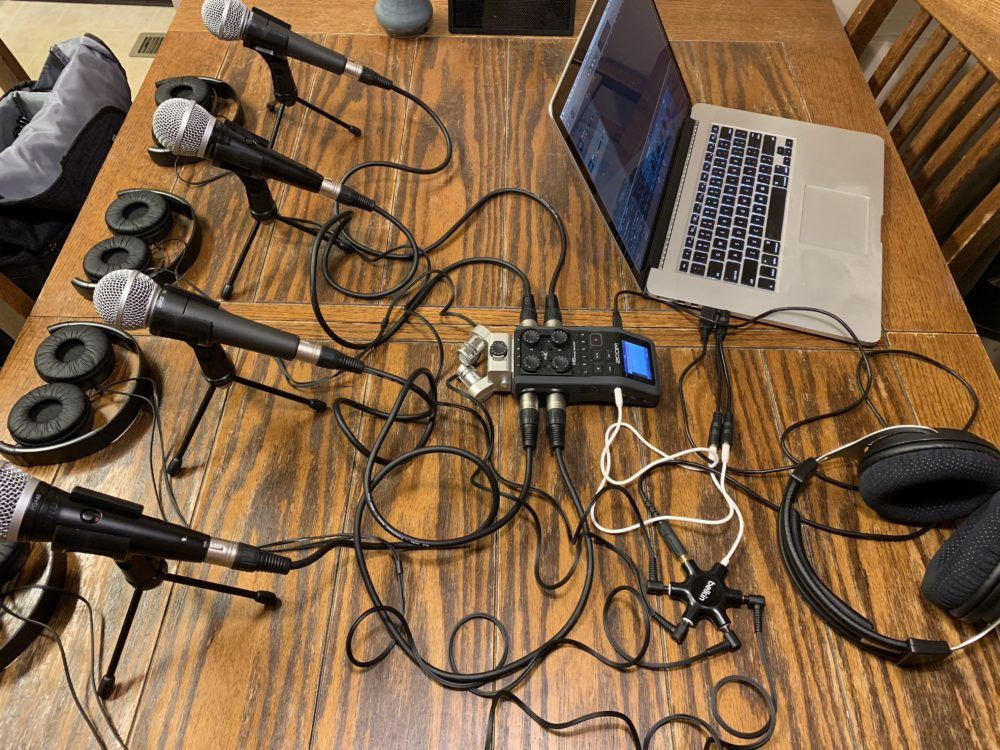 Podcasting with Zoom and Skype