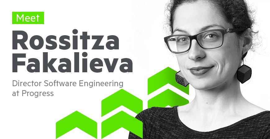 Meet Rossitza Fakalieva Director of Software Engineering at Progress_870x450