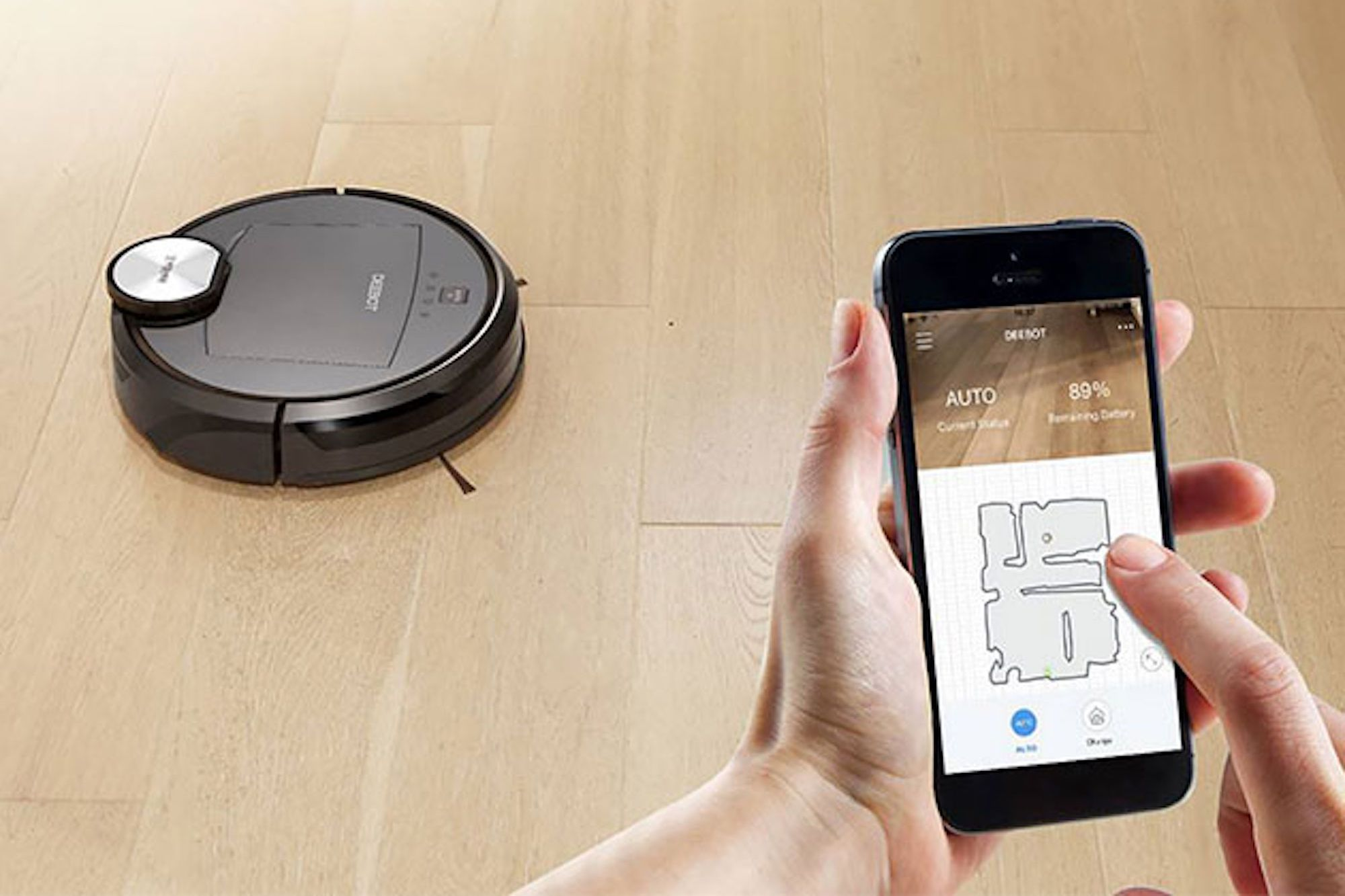 This Robot Vacuum Cleans Your House While You're At Work