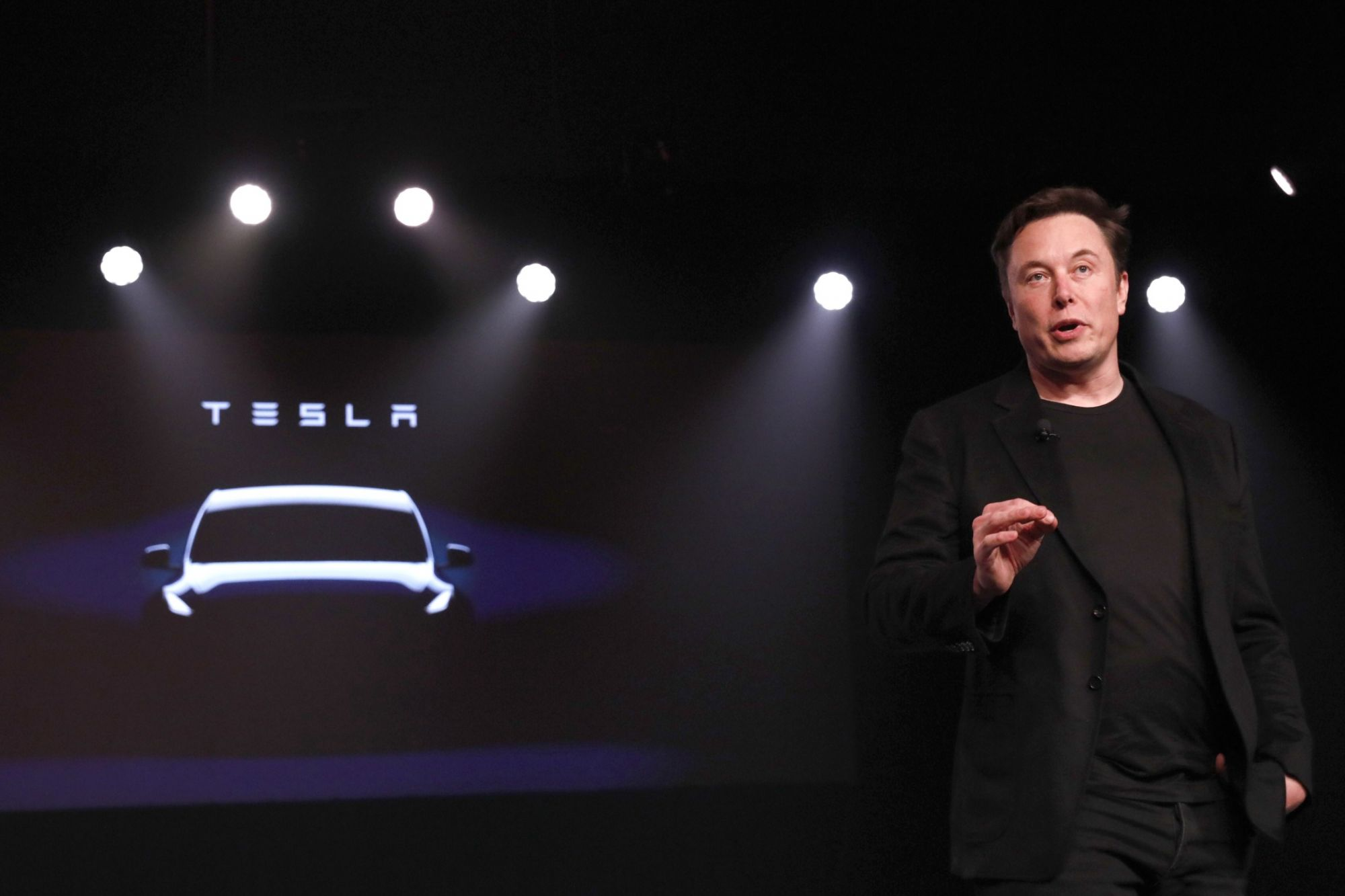 Tesla Slides After Walmart Sues the Company, Claiming Its Solar Panels Caught Fire