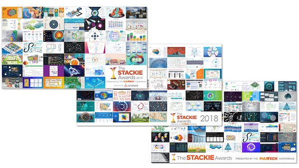 MarTech Stackies 2017-2019: Récompenses Marketing Tech Stack