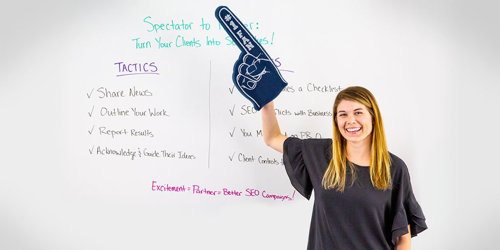 Du spectateur au partenaire: transformez vos clients en alliés SEO - Best of Whiteboard Friday