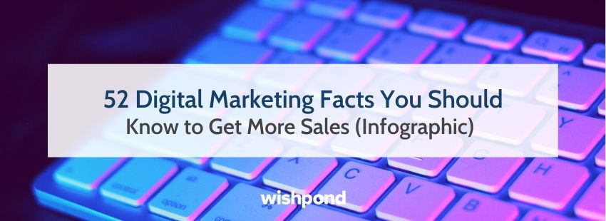52 Digital Marketing Facts You Should Know to Get More Sales (Infographic)