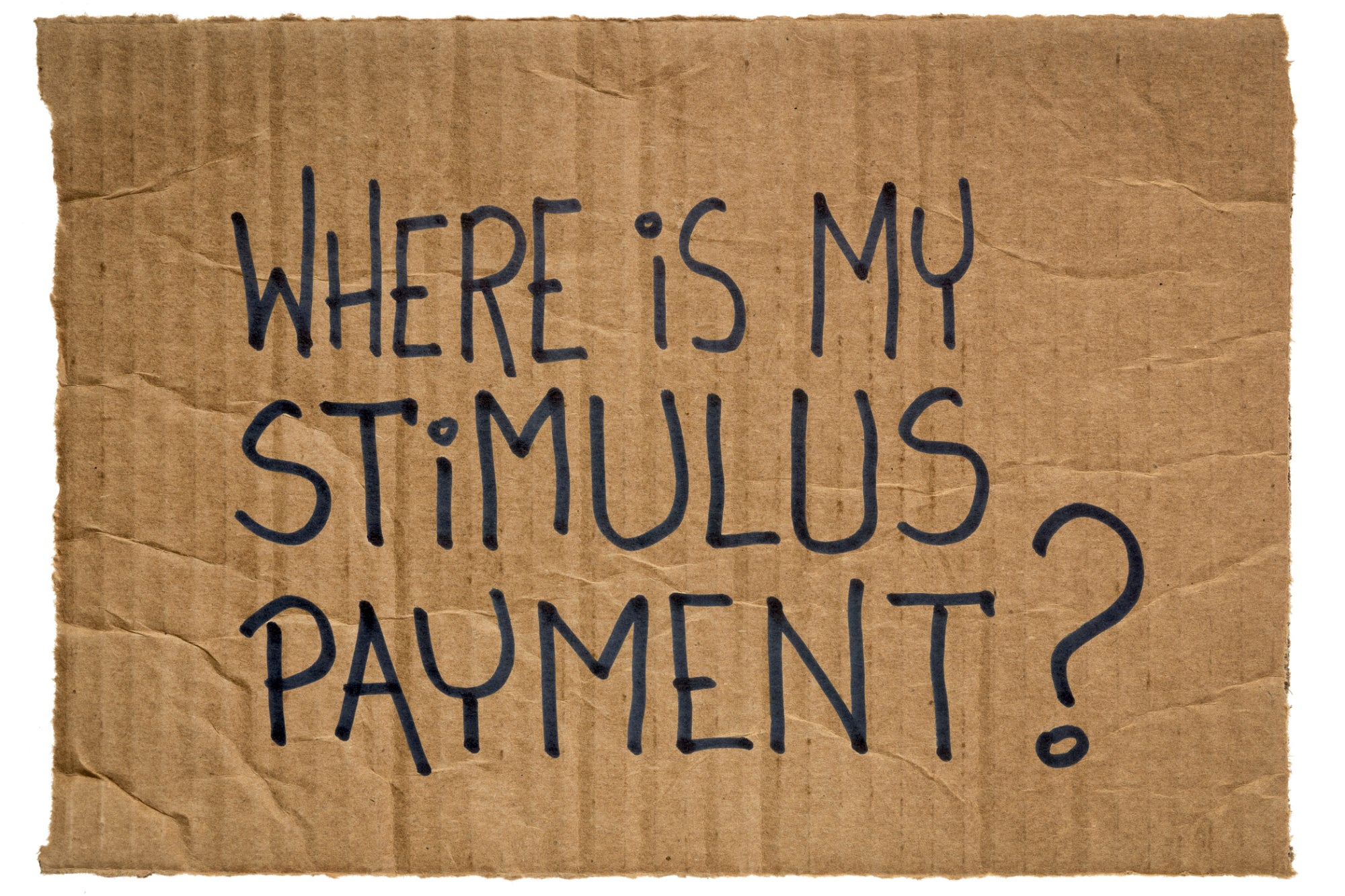 Who You Gonna Call for An Update On Your Stimulus Check? The IRS, At Last.