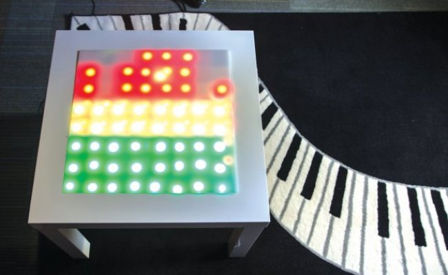 Arduino Blog Hacked Ikea Table Dances To Your Favorite