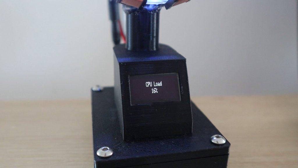 CPU Load Displayed - Electrogeek