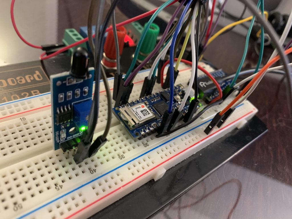breadboard 1 - Electrogeek