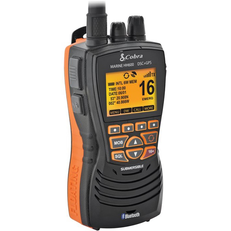 Cobra Mr Hh600 Gps Bt UE blanco