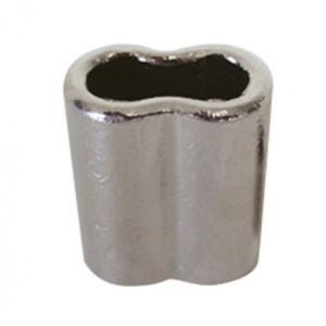 Casquillo Cromado prensar cable de 3 mm