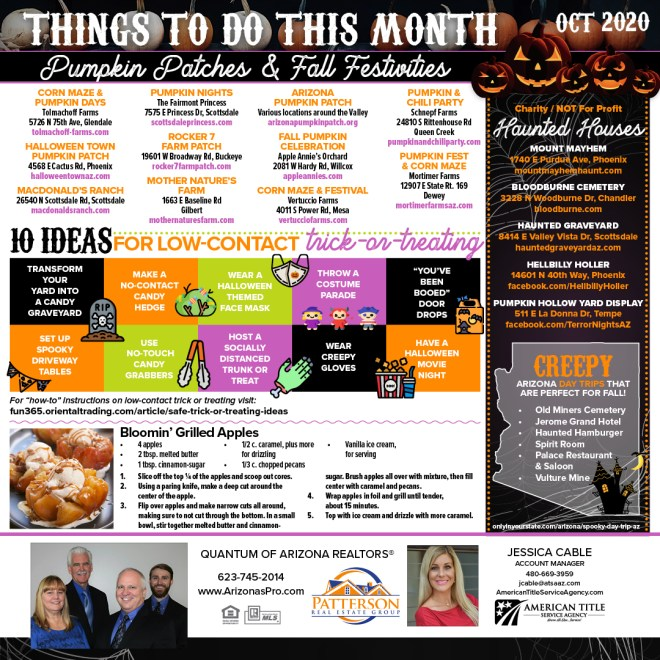 Things To Do October 2020 Phoenix