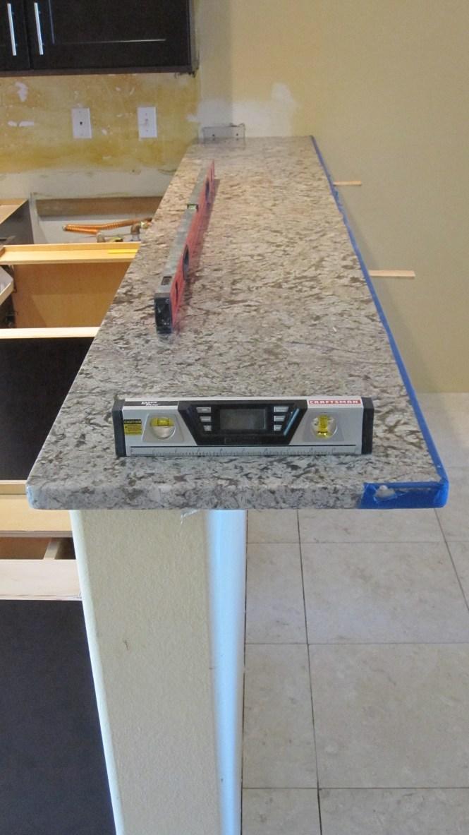 Bar countertop overhang bstcountertops for Granite countertop overhang support
