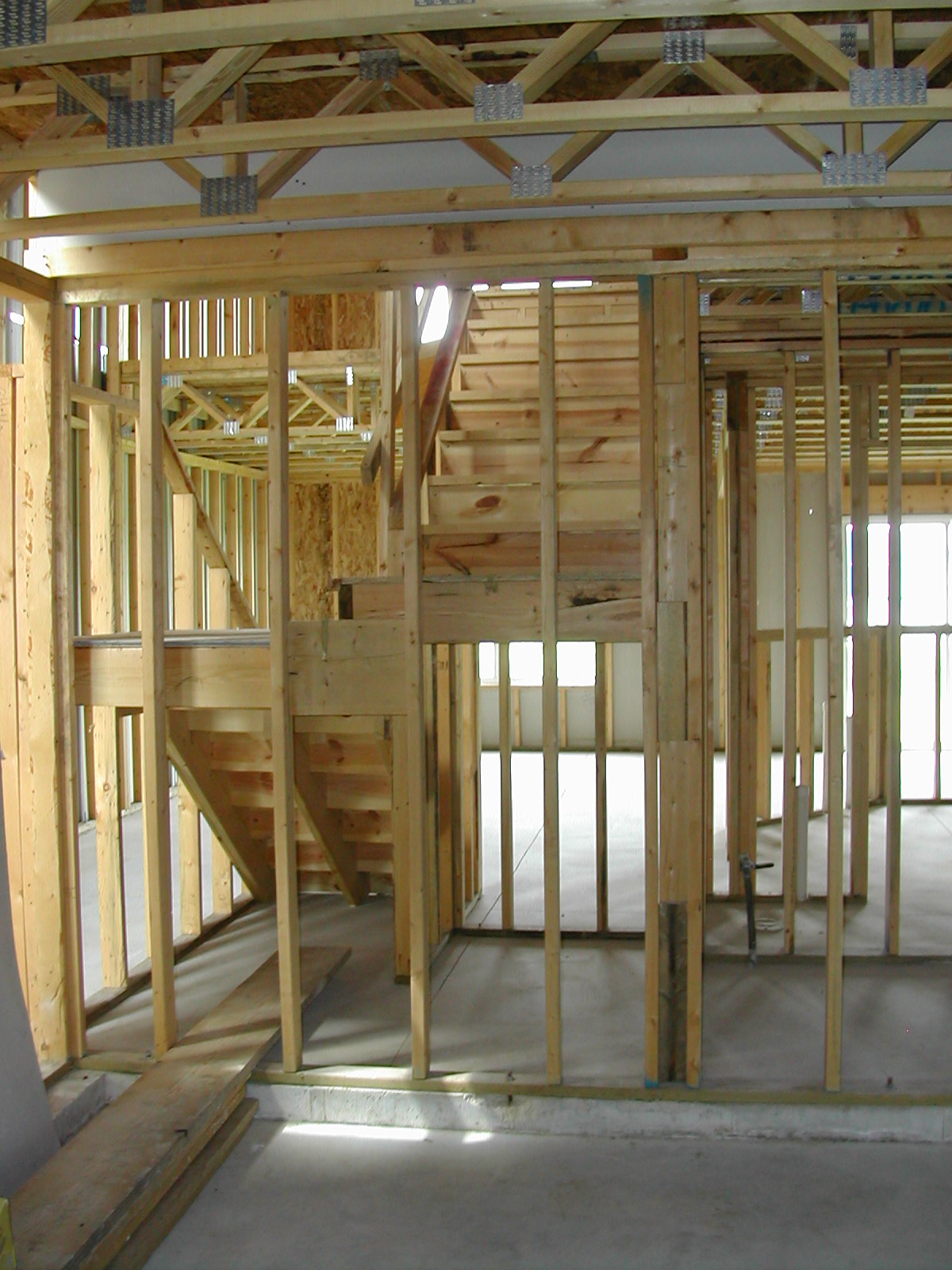 Frame Quality Issues Finished Basement  Armchair Builder
