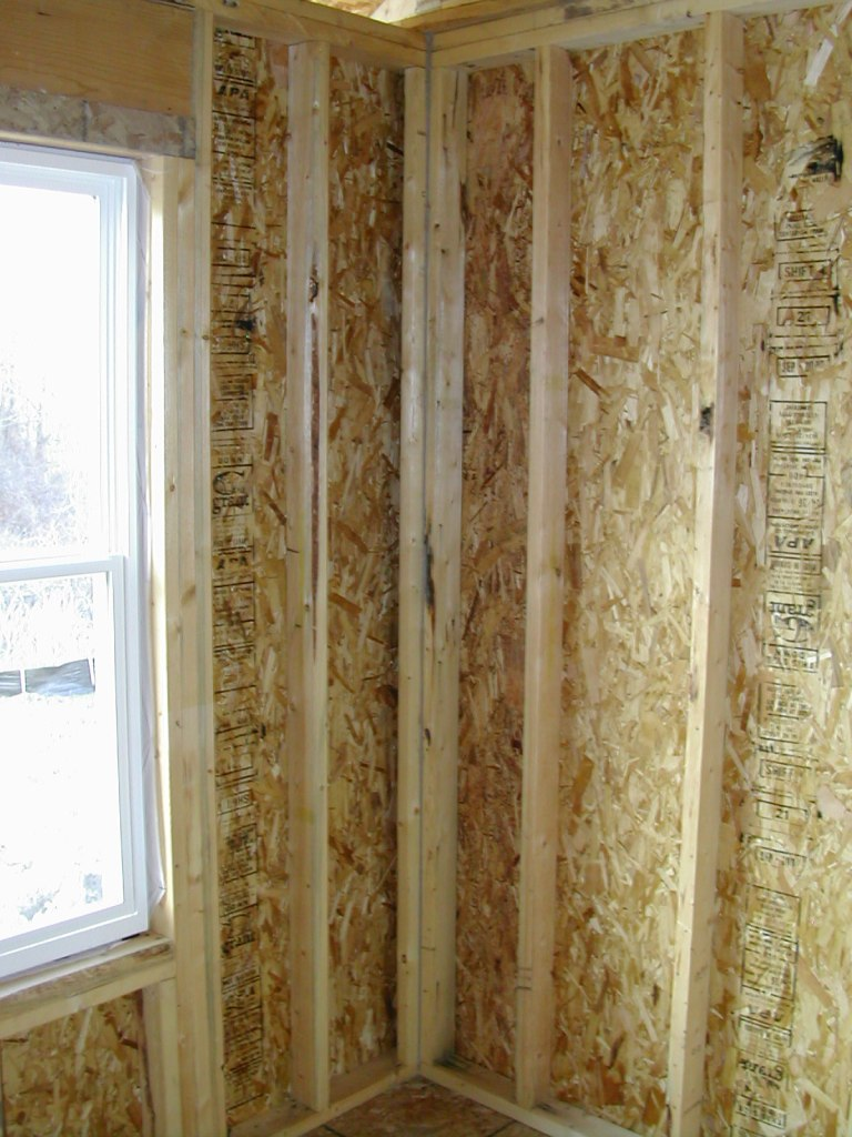 How To Frame A Wall Corner For Drywall