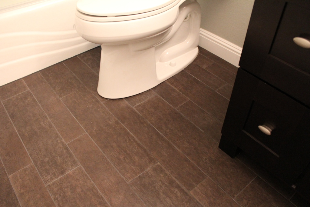 Tile That Looks Like Hardwood- Armchair Builder :: Blog