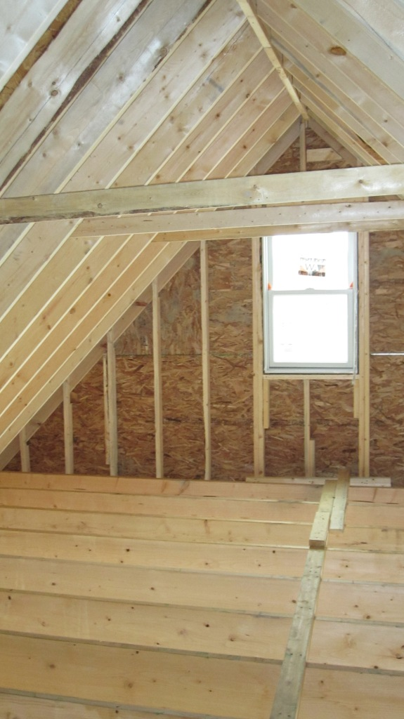 Cathedral ceiling rafter ties for Cathedral ceiling trusses