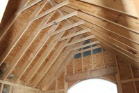 Vaulted Ceiling Precautions