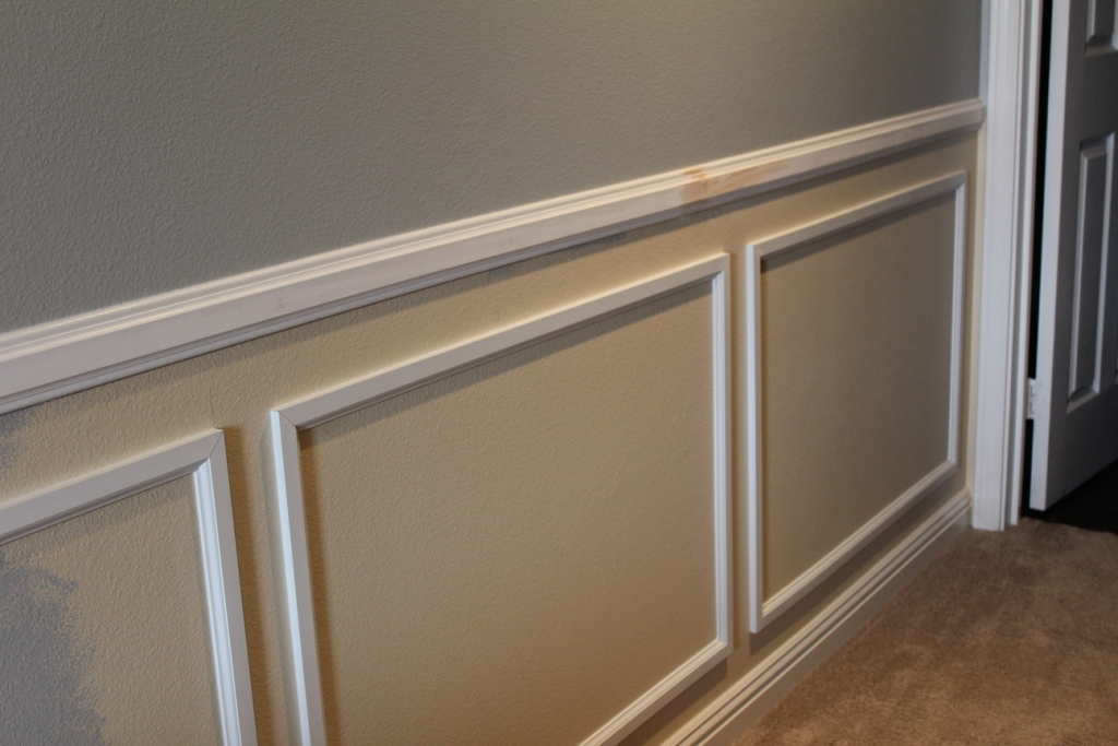 how to install chair rail revolving dealer in india wainscot installation tips from a builder the measurements are key installing
