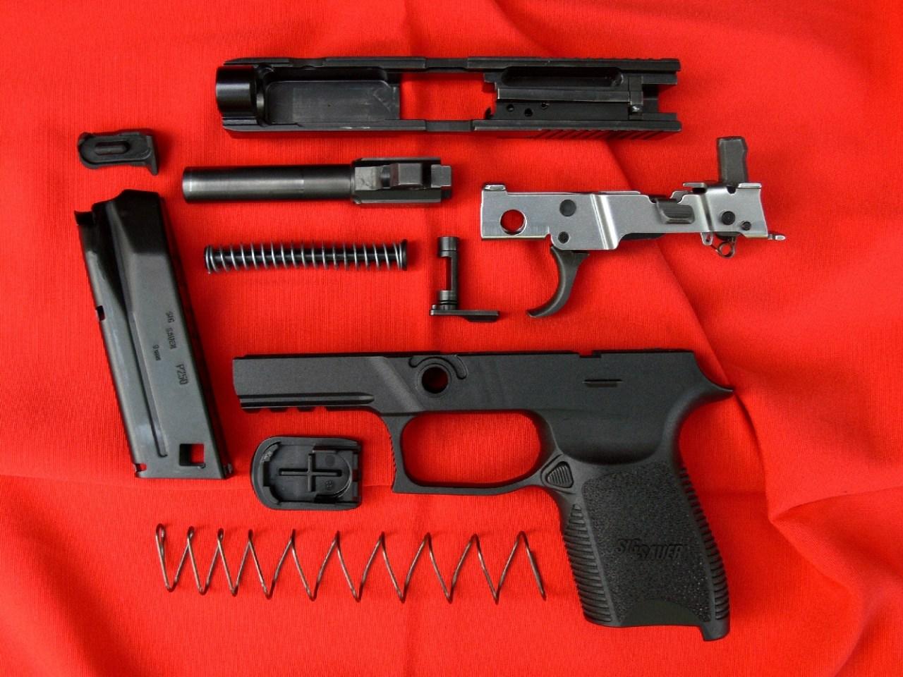 modifier pistolet a blanc