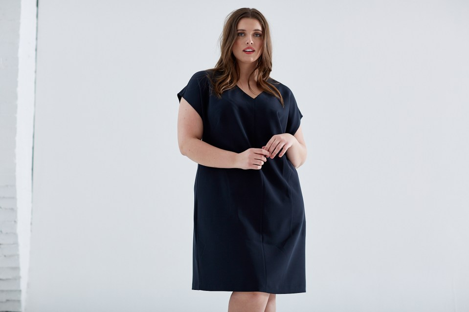 Brass high end designer plus-size women's clothing brands