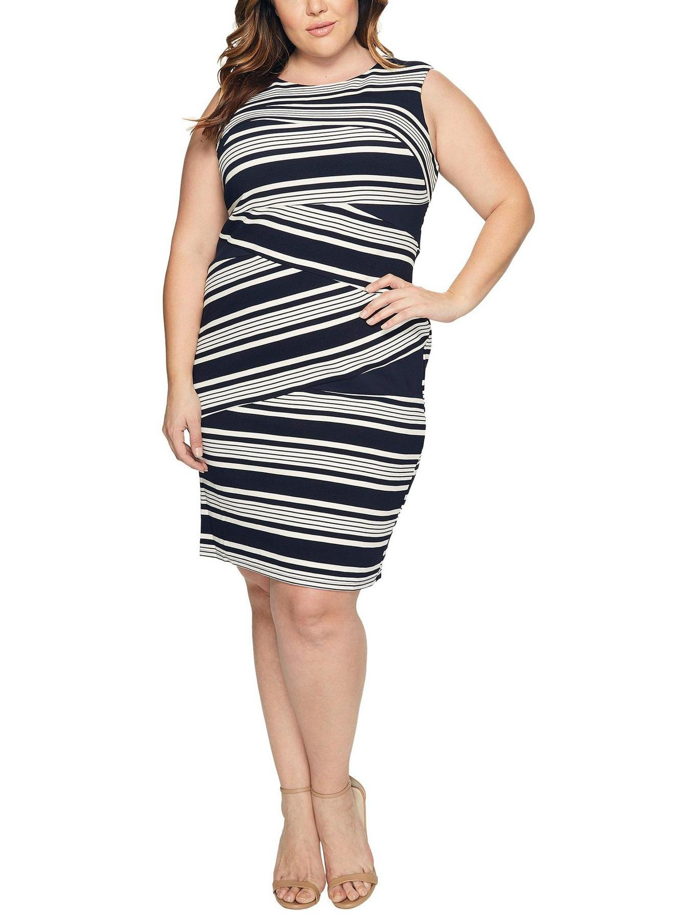 Adrianna Papell high end designer plus-size women's clothing rental