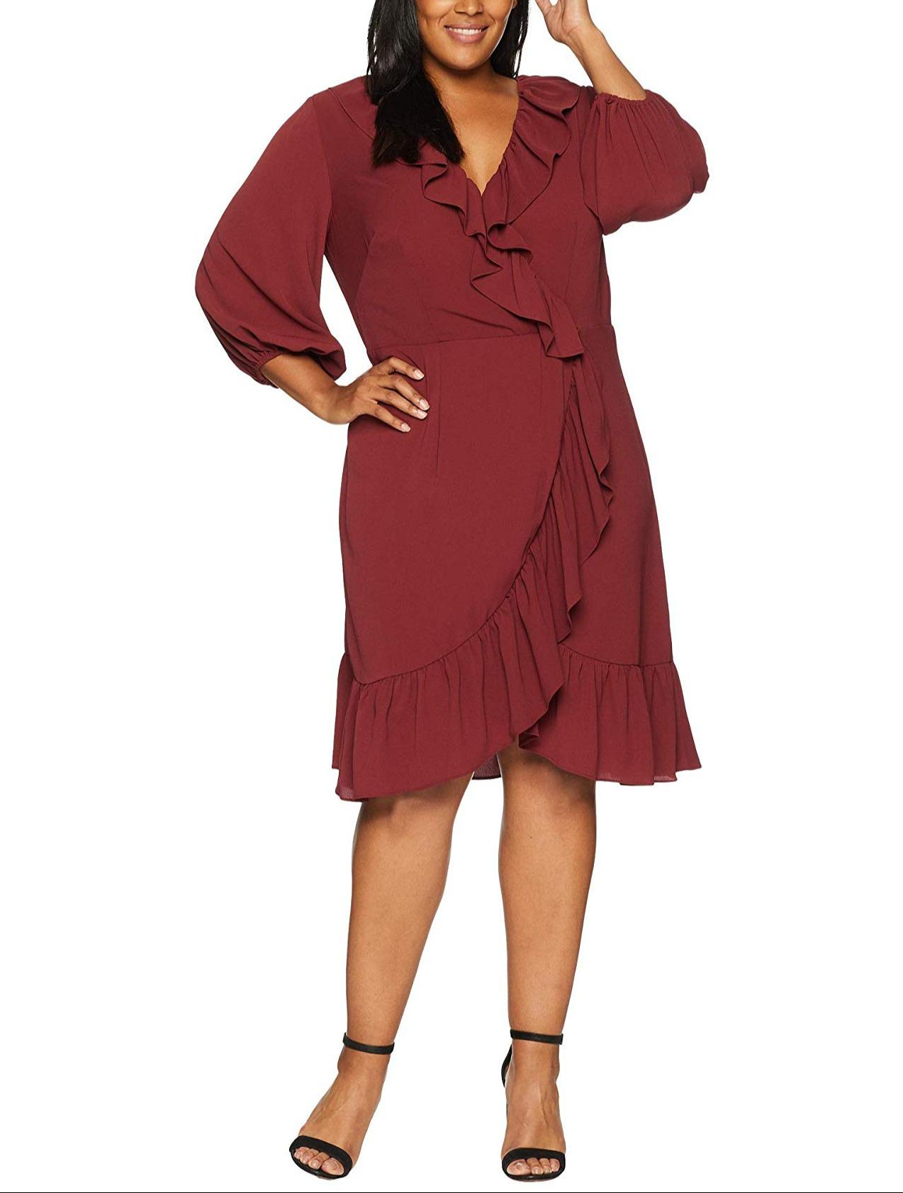 Adrianna Papell high end plus-size women's clothing rental