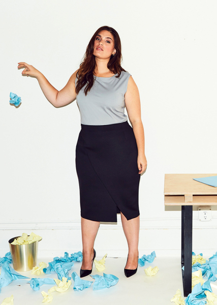 rent sustainable plus-size clothing