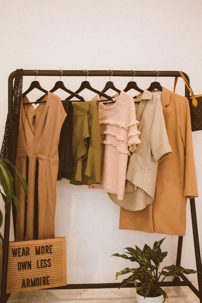 conscious consumption rent clothes