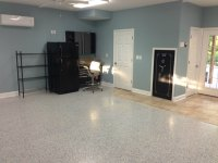 Garage Floor Epoxy Kit With Real Granite Look