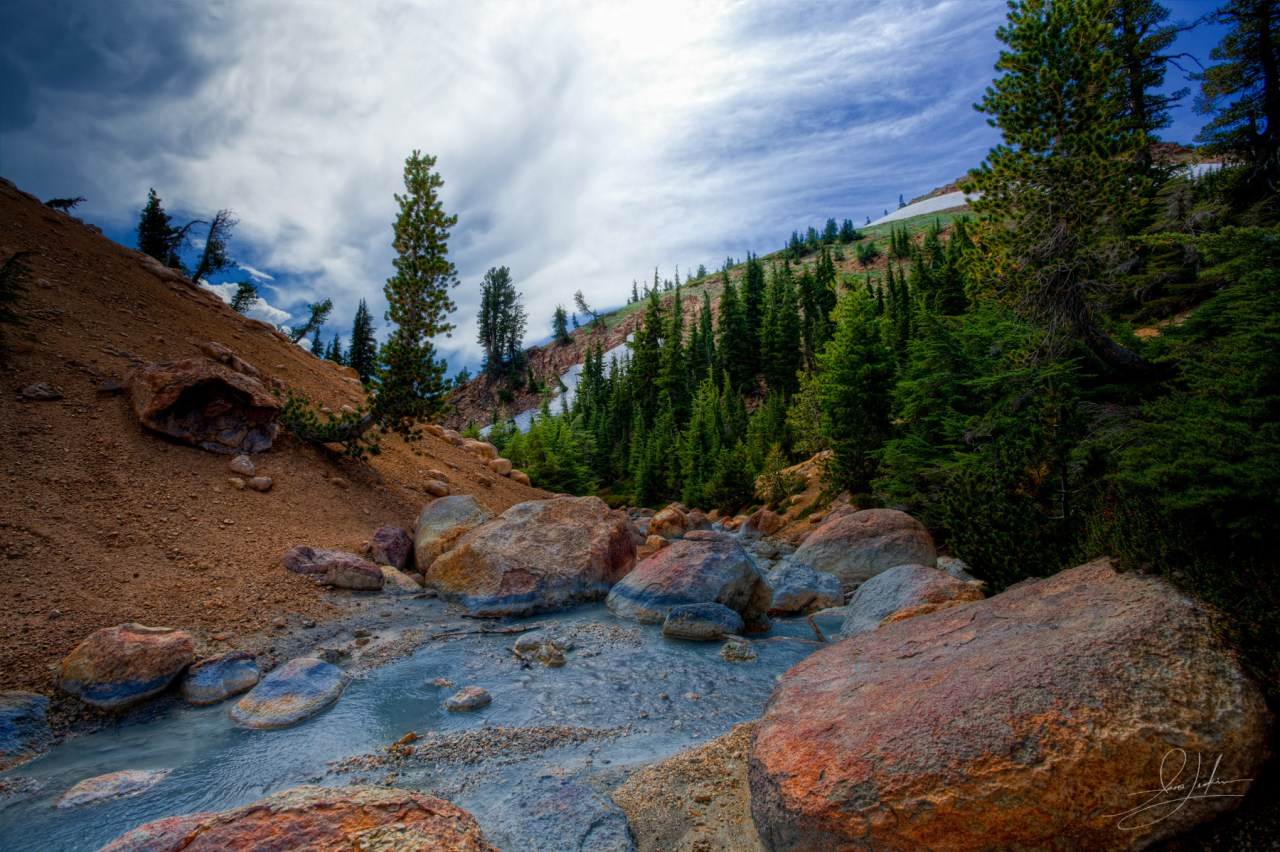 Lassen Volcanic National Park Stream