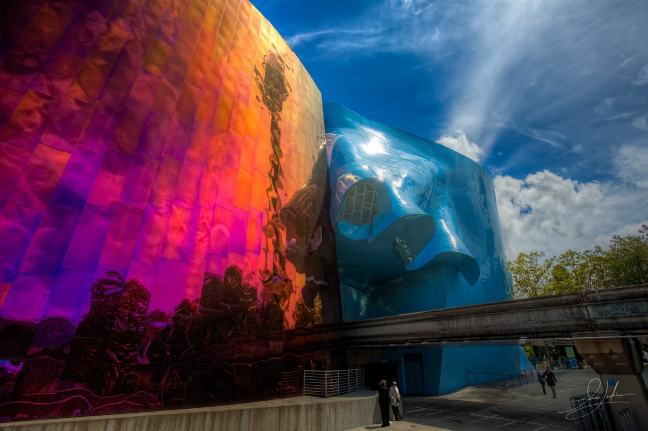 Seattle Experience Music Project Museum