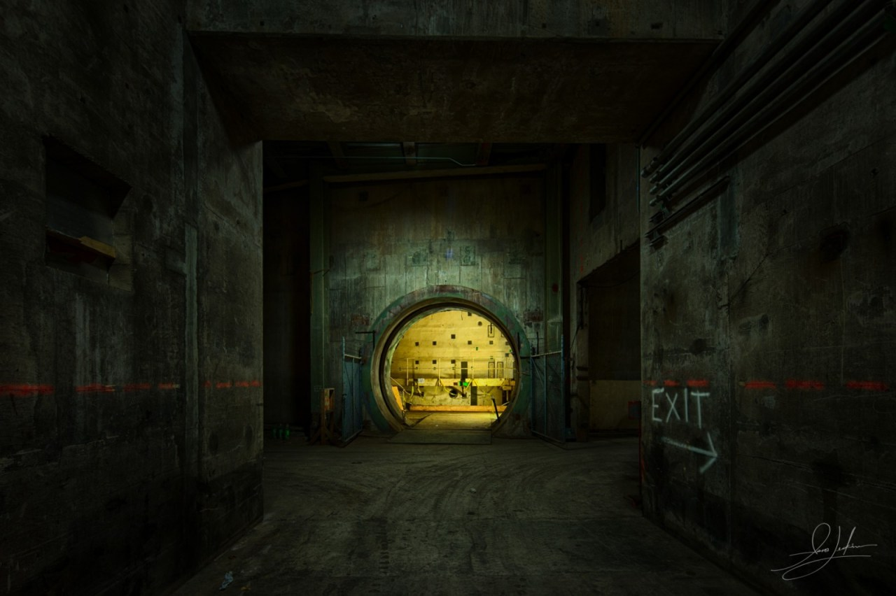 Entering Nuclear Reactor Chamber Nuclear Power Plant