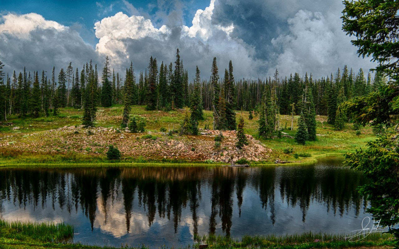 Summit Lake on the Continental Divide