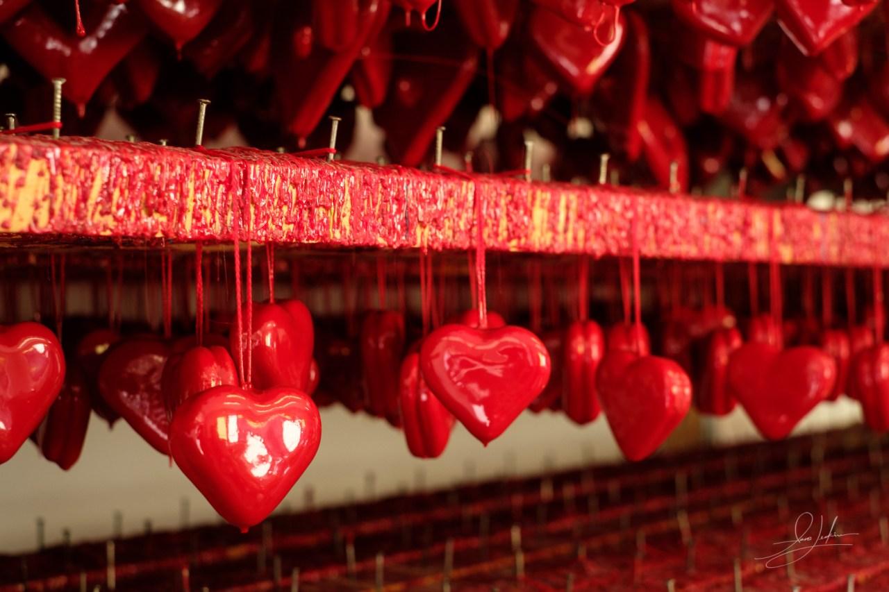 Croatian Licitar Hearts