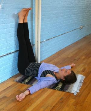 restful medicine legsupthewall  arogya holistic healing